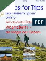 Tipps-for-Trips das Reisemagazin online Ausgabe Oktober