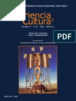 Revista Ciencia y Cultura
