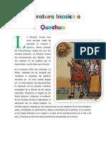 Literatur a Inca i Cao Quechua