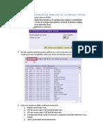 ALTERAÇÃO DE FAIXAS DE CEP x DOMICILIOS FISCAIS