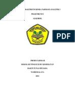 Laporan Praktikum Kimia Farmasi Analitik i