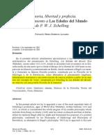 Memoria. libertad y profecía. Las edades del mundo de Schelling.PDF