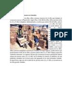 Explotación laboral de menores en Colombia