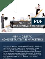 MBA - Gestão Administrativa e Marketing - Grupo Educa+ EAD