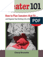 Flowchart and Manufacturing Process for Sweater