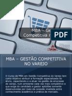 MBA - Gestão Competitiva no Varejo - Grupo Educa+ EAD
