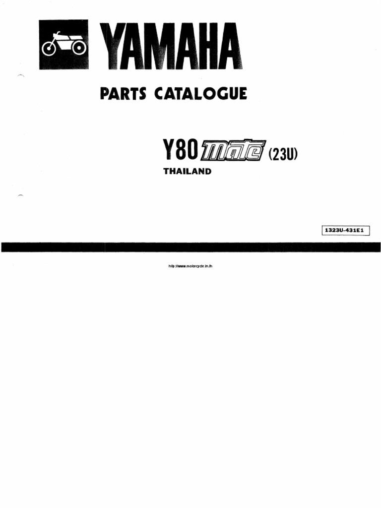 Yamaha y80 partscataloguepdf cheapraybanclubmaster Image collections