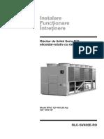 Manual Intretinere Chiller RTAC RLC-SVX02E-RO_0808