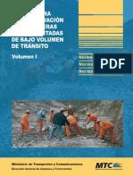 Manual Para La Conservacion de Carreteras No Pavimentadas de Bajo Volumen de Transito v-I