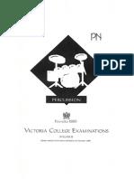 VCM Percussion Syllabus