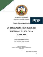 MoralesZapataRicardo. . Corrupción y su rol en la economía