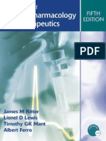 A Textbook of Clinical Pharmacology and Therapeutics