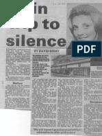 Susanne Llewellyn-Jones coverage in the South Wales Echo, 15 June 1990