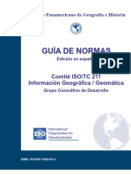 ISO TC 211 Standards Guide Spanish