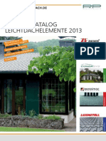 Katalog Leichtdach Dacheindeckung