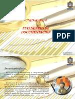 Unida IV - Estandares de Dcoumentacion