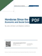 Honduras Since the Coup
