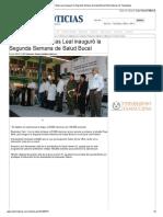 05-11-2013 'El alcalde Pepe Elías Leal inauguró la Segunda Semana de Salud Bucal'.
