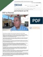 05-11-2013 'Licitaran obras de pavimentación por 60 MDP en Reynosa'.