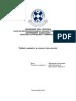 calidadyequidaddelaeducacintareadocente-130915163228-phpapp01