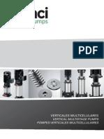 Saci Pumps Verticales Multicelulares 2012