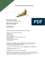 Crecimiento y desarrollo económico en Colombia