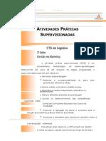 Cead 20131 Logistica Pr - Tecnologia Em Logistica - Gestao Em Marketing - Nr (a2ead149) Atividades p New