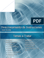 Unidad 3 - 4 Direccionamiento de Instrucciones