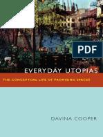 Everyday Utopias by Davina Cooper