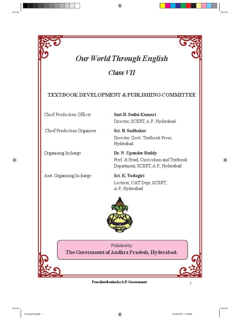Class 7 english text book ap syllabus adjective languages fandeluxe Image collections
