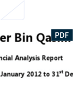 Financial Analysis Report Fauji Fertilizer Bin Qasim Ltd