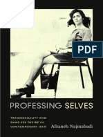 Professing Selves by Afsaneh Najmabadi