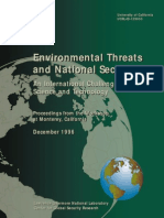 Environmetal Threats and National Security1996