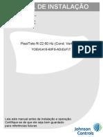 Manual-de-Instalação-Split-York-Piso-Teto-Prime