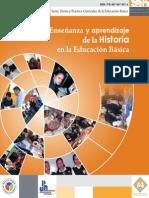 Enseñanza y aprendizaje de la historia en la educación básica