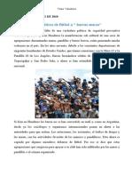 De Fanaticos Deportivos a Bandas Organizadas - Mareros