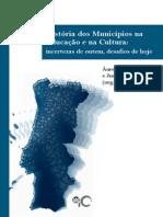 História dos municípios na educação e na cultura