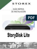 StoryDisk Lite Quick Guide ES v2