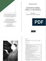 Pauli, W. (1996) Escritos sobre Física y Filosofía