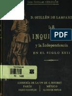 D. Guillen de Lampart - La Inquisición y la Independencia en el siglo XVII
