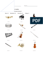instrument families quiz