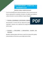 INTERDICIPLINARIEDAD CIÉNCIAS Y MATEMÁTICAS