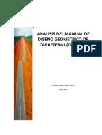 Diseño Geométrico Carreteras-Resumen