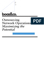 outsourcing network operations