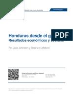 Honduras desde el golpe