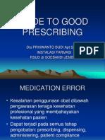 GUIDE TO GOOD PRESCRIBING.ppt