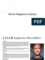 movie magazine analysis