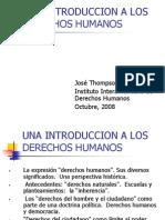 Introduccion a Derechos Humanos