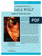 The Interrogation of Ashala Wolf Press Release