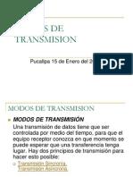 Modos de Transmision